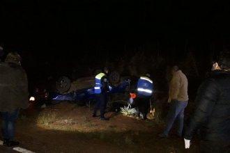 Joven concordiense protagonizó un fatal accidente: realizó una mala maniobra y volcó