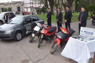Organismos estatales de Entre Ríos recibieron vehículos secuestrados en operativos de Narcomenudeo