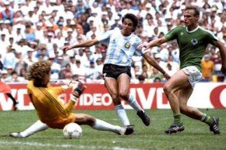 A 34 años del título en México, con Diego brillante y el gol decisivo de un entrerriano
