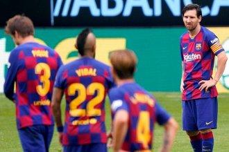 A Barcelona se le escapó el Madrid y en España hay rumores de una posible salida de Lionel Messi