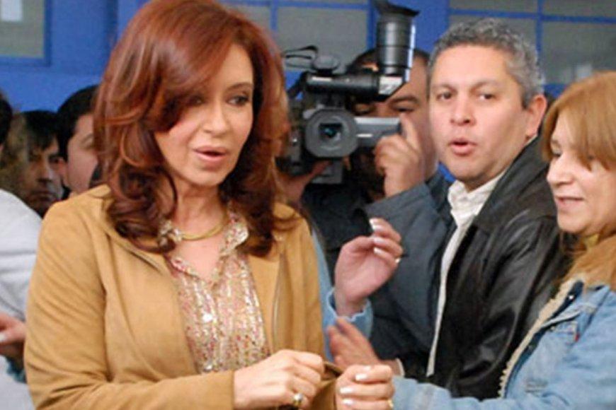 Gutiérrez, en tiempos que era secretario de CFK.
