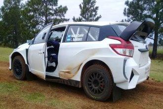 Nadia Cutro probó el auto con el que competirá en la clase principal del Campeonato Argentino