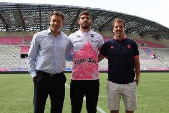 Kremer fue presentado formalmente en Stade Francais
