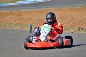 Más pruebas en el autódromo de Concordia: esta vez le tocó a los kartistas