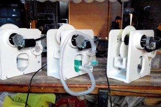 Desde una fábrica de guitarras, confeccionaron aparatos que facilitan la respiración a pacientes con COVID-19