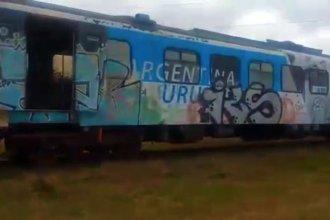 """El """"Tren de los Pueblos Libres"""", en ruinas"""