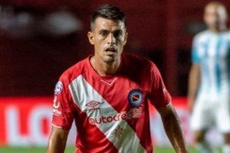 """""""Se viene un año con muchas expectativas"""", admitió el paranaense que jugará la Libertadores 2021 con Argentinos"""