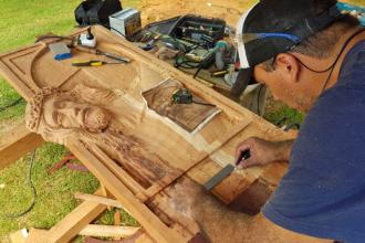 Desde la costa del Uruguay, convocan a un evento internacional de tallistas y escultores: el tema de inspiración
