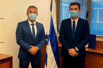 ¿Cuáles son los dos ejes sobre los que proyecta avanzar el embajador Urribarri en Israel?