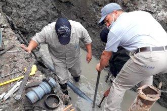Detectaron filtraciones y podría haber cortes de agua en la zona sur de Concordia