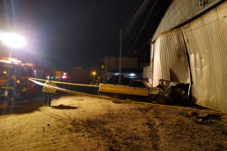 Alcoholemia positiva para un camionero que chocó un vehículo estacionado