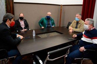 Giano recibió a la Mesa Empresaria del Turismo de Entre Ríos, con la emergencia del sector al tope de la agenda