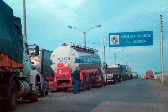 Por el costo de los hisopados que exige Uruguay, camioneros de Argentina y Brasil se movilizan a los pasos fronterizos