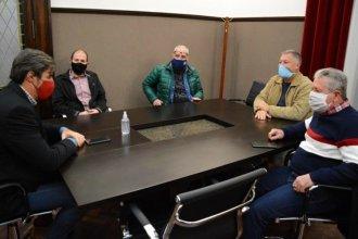 """Para """"lograr una pronta recuperación"""", Giano recibió a integrantes de la Mesa Empresaria del Turismo"""