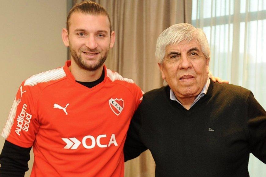 Otros tiempos: Silva con Moyano, en 2017.