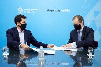 Firmaron el convenio para pavimentar la ruta 23, que une los departamentos Uruguay y Colón