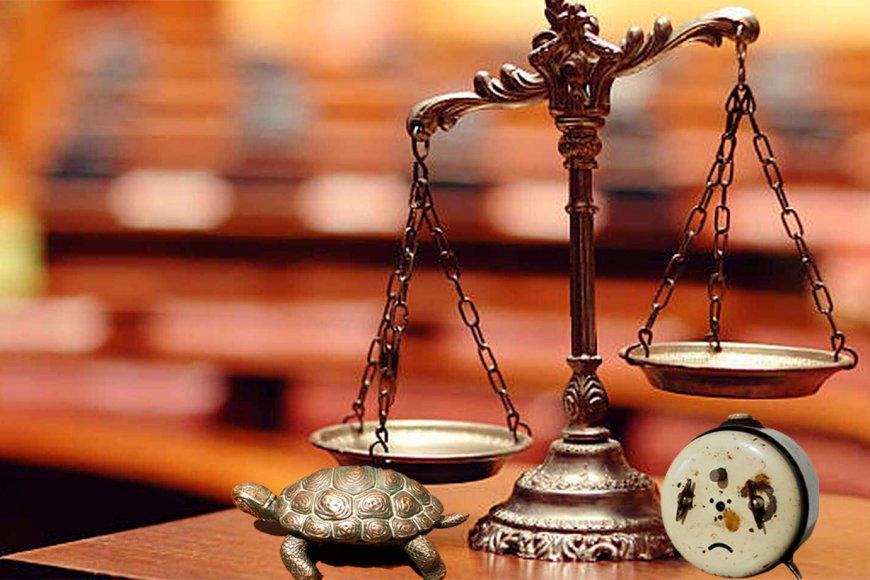 La Justicia, lenta y con problemas de horarios