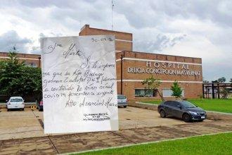 """Falsificaron un certificado de COVID-19 con un sello sustraído a una jefa del hospital """"Masvernat"""""""