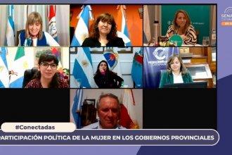 Stratta participó de un encuentro virtual junto a vicegobernadoras de otras provincias