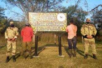 """In fraganti, """"jugando con fuego"""" en zona de islas: Entre Ríos concretó las primeras detenciones"""