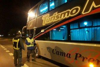 Concepción del Uruguay: retuvieron un micro por no contar con los permisos de circulación