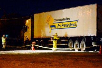 Camionero brasileño dio positivo cuando estaba por ingresar a la Argentina desde el Uruguay
