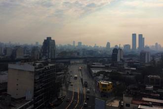 Humo en la Ciudad de Buenos Aires: el Servicio Meteorológico liberó de culpas al Delta entrerriano