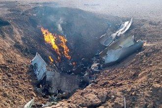 Falleció un piloto entrerriano tras eyectarse en un vuelo de adiestramiento de la Fuerza Aérea