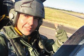 Perfil del entrerriano Gonzalo Britos Venturini, el piloto de caza que murió al eyectarse de su avión