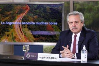 La reactivación de la Ruta 18, entre las obras que anunció Alberto Fernández