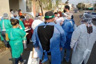 Horas después de detectar 3 casos positivos en un barrio de Concordia, comenzaron los operativos