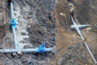 Dos sectores de Concordia tendrán cortes de agua por una obra de empalme de cañerías