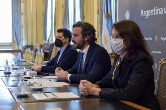 Junto a intendentes entrerrianos, Cafiero presentó el Plan Nacional de Suelo Urbano