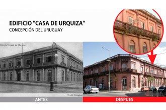 El intendente Oliva avanza con la recuperación de la Casa de Urquiza
