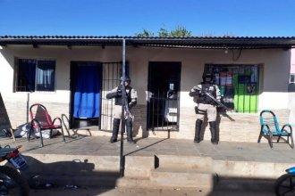 Narcomenudeo en Concordia: Prefectura realizó allanamientos y detuvo a seis personas
