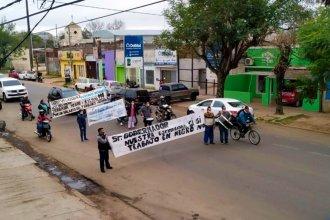 """En días de lucha contra el coronavirus, trabajadores del """"Masvernat"""" marcharon hasta la casa de Bordet"""