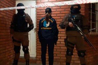 Siete allanamientos por narcomenudeo: Hay tres detenidos e incautaron dinero, drogas y vehículos