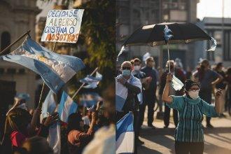 Fotos y videos del 17A, la marcha que tuvo presencia en varias ciudades entrerrianas