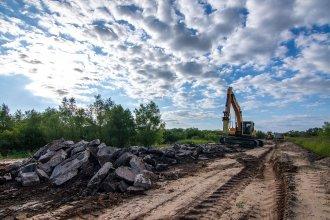 Bordet valoró los avances en la reconstrucción de 3.568 metros de la ex ruta 26, entre la Autovía y San José