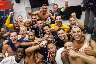 El PSG clasificó por primera vez a una final de Champions League y celebró al ritmo de famoso cantante entrerriano
