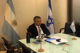 Urribarri impulsa trabajo conjunto del Garrahan con el hospital más importante de Israel