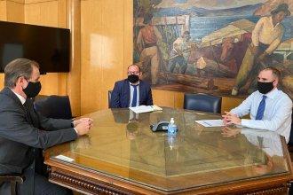 """""""El Estado tendrá un rol protagónico en la reactivación económica"""", dijo Bordet tras reunirse con el ministro Guzmán"""
