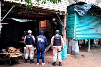 2 más y ya van 37: siguen los allanamientos para desarticular banda dedicada al narcotráfico