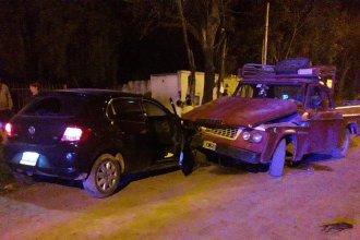 Otra sustracción de vehículo que termina en accidente: dos lesionados y un detenido