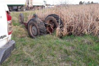 Entrerriano falleció luego de quedar atrapado bajo el tractor que conducía