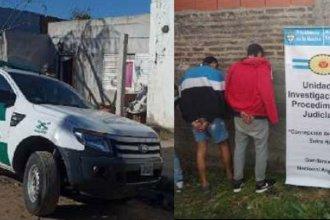 Tres allanamientos resultaron en el secuestro de estupefacientes y cinco detenidos