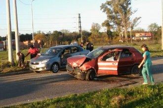 Alcoholizado al volante, protagonizó un violento accidente: dos personas fueron hospitalizadas