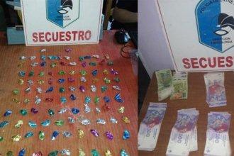 Tras un allanamiento, desarticularon un kiosco de drogas en la capital entrerriana