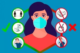 Con casi 600 contagios, Entre Ríos pasó los 34 mil casos de coronavirus