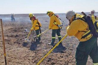 Por aire y por tierra, intensificarán las tareas de control contra incendios en el delta